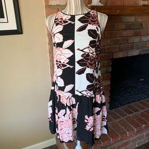 Anthropologie Maeve Photoflora Drop Waist Dress 2